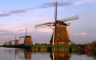 Dutch windmill1