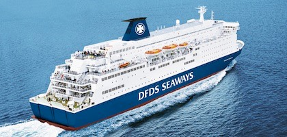 prom Princess Seaways na trasie Amsterdam-Newcastle