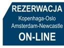on-line ferry booking system of DFDS Seaways